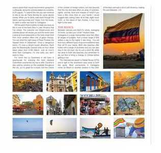 Kiteboarding kiteworld article in travel section about kitesurfing in Cartagena, Colombia guide map tips beaches for kiting comekitewithus