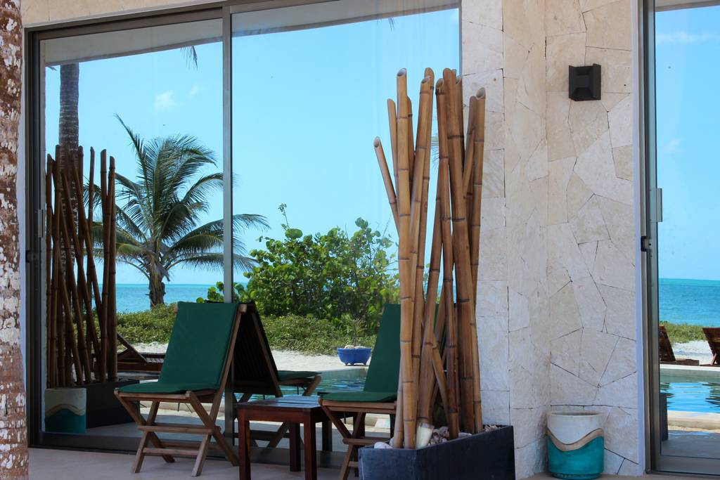 Casa Morph and come kite with us crews luxury hotel in El Cuyo Mexico for kiteboarding