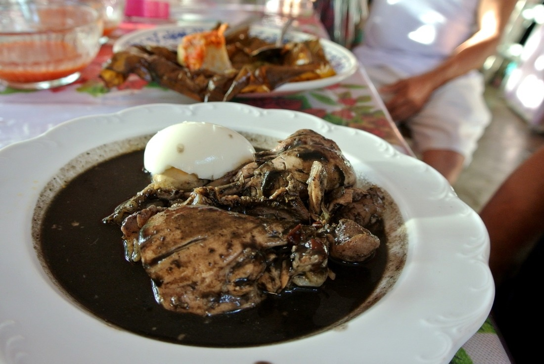 Relleno Negro Izamal Yucatan Mexico food amazing taste and only from Izamal, guide and tips with photos Yellow city
